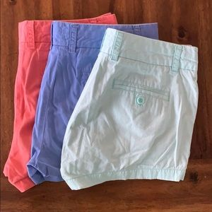 "3"" jcrew shorts"